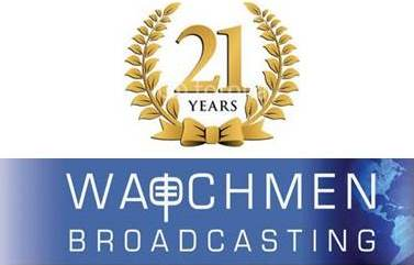 21st Anniversary Logo | Watchmen Broadcasting