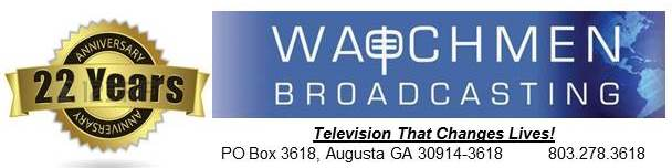 22nd Anniversary Letterhead | Watchmen Broadcasting