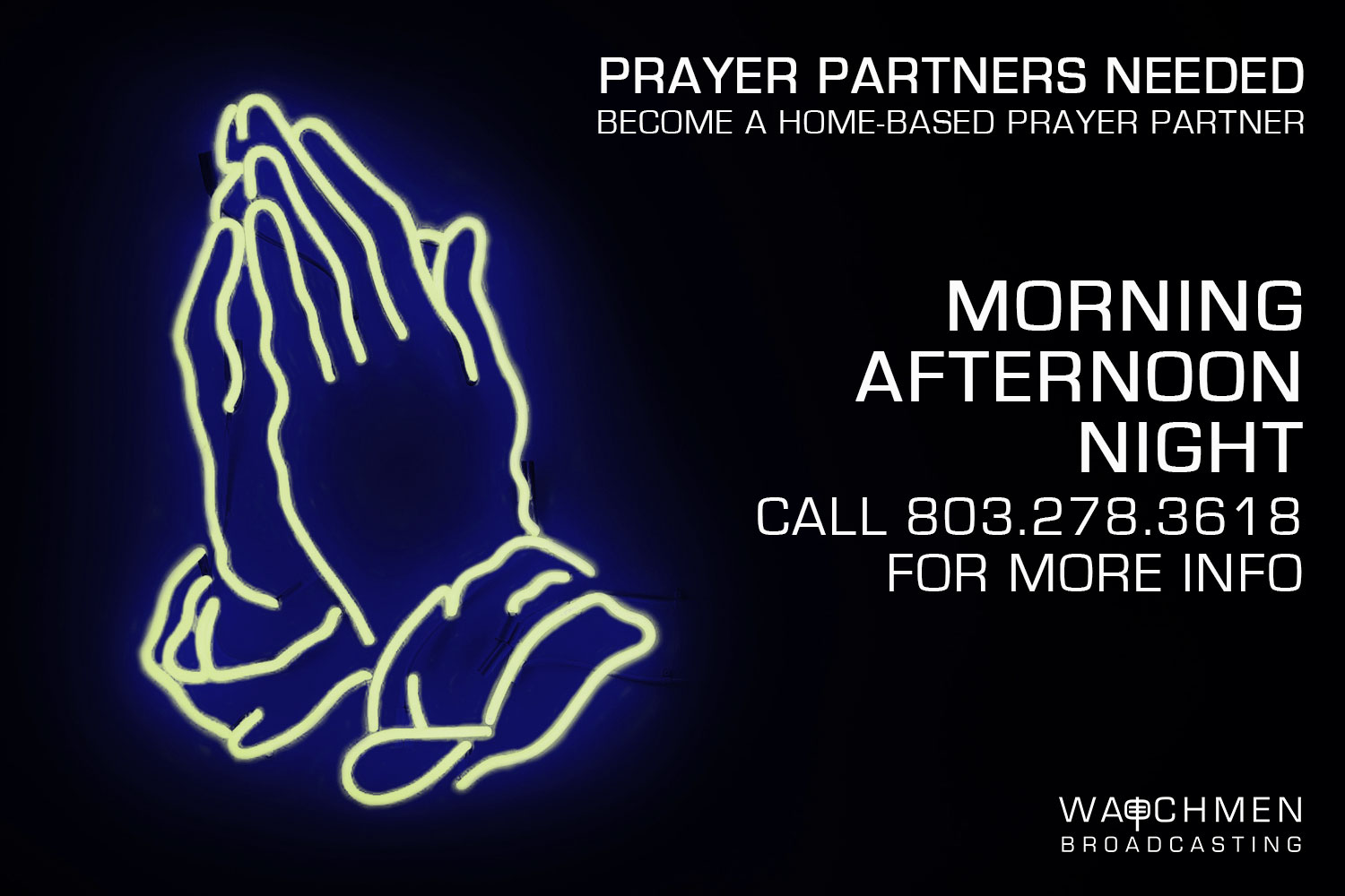 24 Hour Prayer Partner | Watchmen Broadcasting