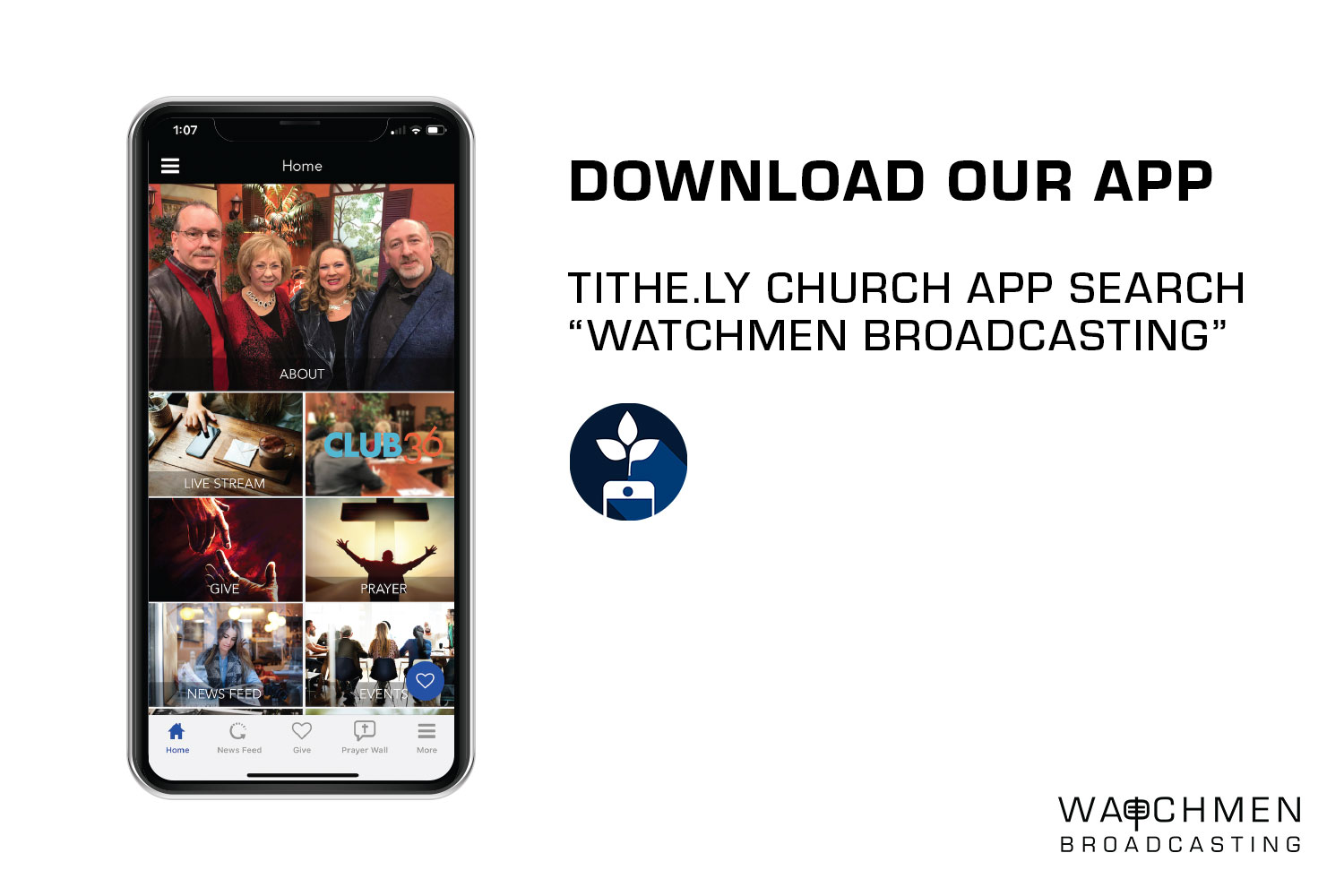 Download Our App | Watchmen Broadcasting